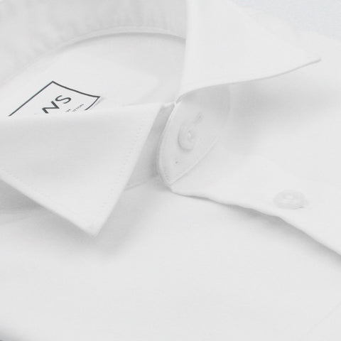 WING TIP COLLAR BUTTON CUFF, THE ULTIMATE WHITE SHIRT