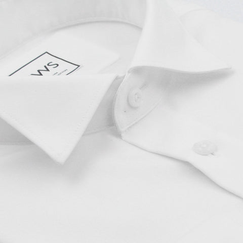 Wing Tip Collar French Cuff, The Ultimate White Shirt - justwhiteshirts