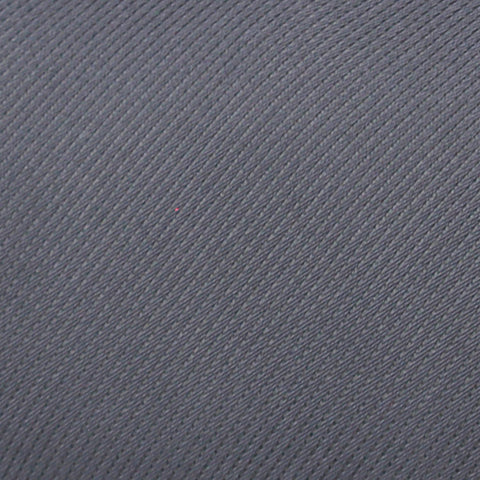 Solid Charcoal Twill Woven Silk Tie - justwhiteshirts
