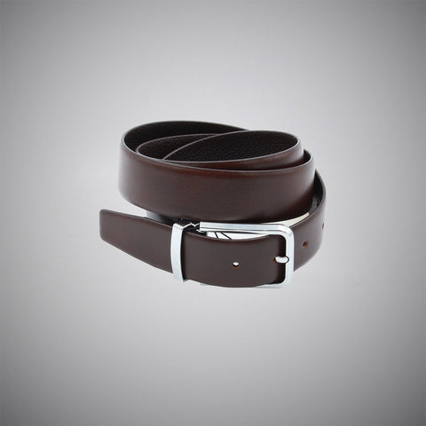 Brown Leather Belt - justwhiteshirts