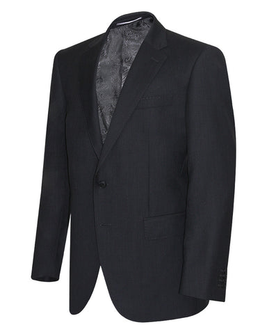 Poly Viscose Charcol Grey Suit Jacket