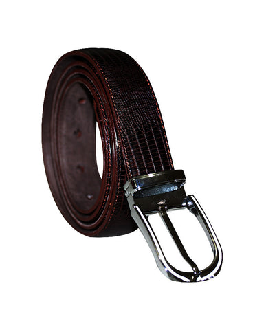 Snake Leather C&C Royal Brown Belt