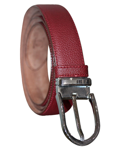 Leather Maroon Belts