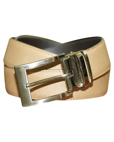 C&C light cream Leather Belt