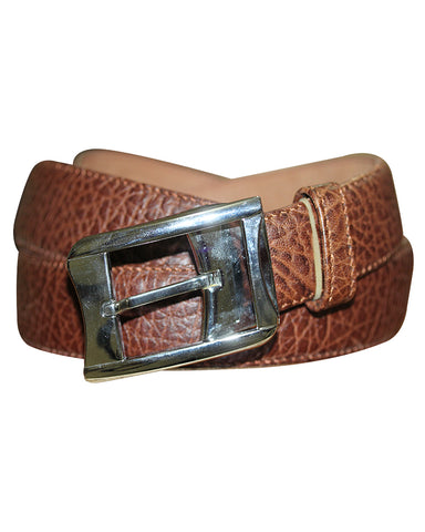 C&C Brown Snake Leather Belt