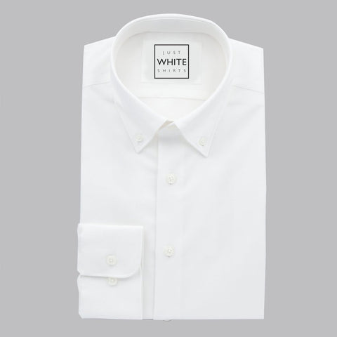 BUTTON DOWN COLLAR BUTTON CUFF, THE ULTIMATE WHITE SHIRT