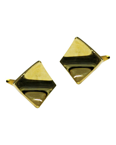 Metal Golden Cufflink