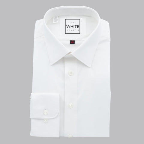 MODIFIED COLLAR BUTTON CUFF, THE ULTIMATE WHITE SHIRT