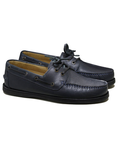 Men's Blue Dress Leather Shoes