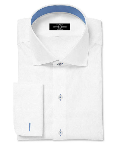 Pure Egyptian Cotton White Shirt F.17.0739