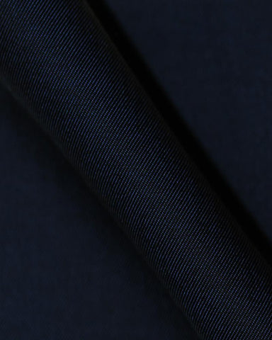 Pure Egyptian Cotton Navy Blue Shirt F.17.0945