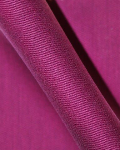 Pure Egyptian Cotton Magenta End on End Shirt F.17.0984