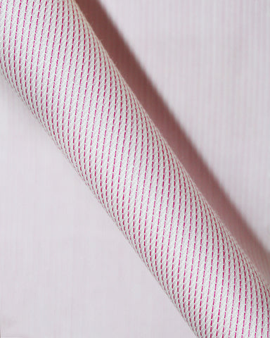 Pure Egyptian Cotton Pink Stripe Shirt F.17.0990