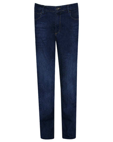 Cotton & Cotton Blue Denim Regular Fit Jeans