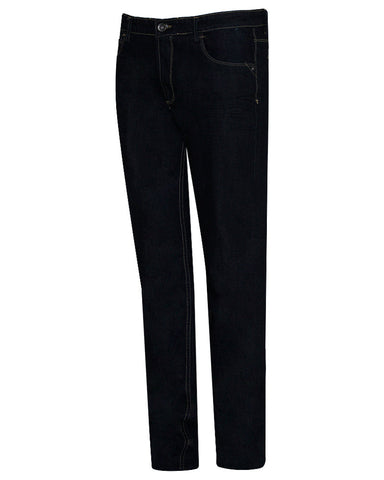 Cotton & Cotton Black Denim Regular Fit Jeans