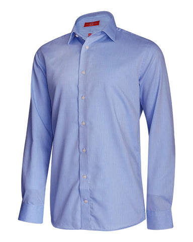 Pure Cotton Sky Solid Formal Shirt