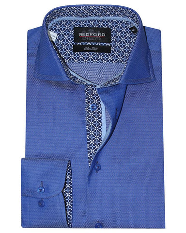 Redford Blue Causal Shirt
