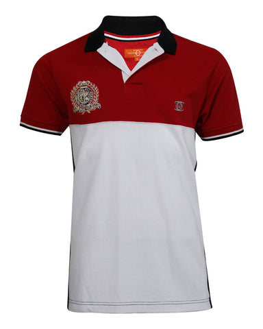 Red & White Polo Shirt