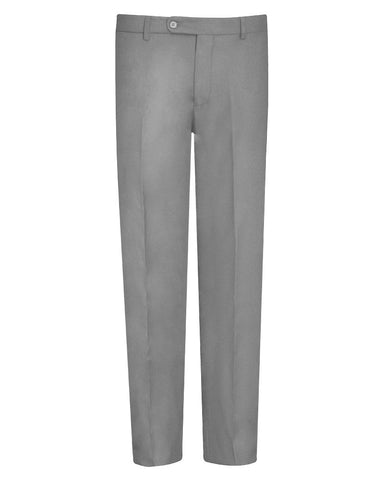 Tropical Light Grey Suit Pants