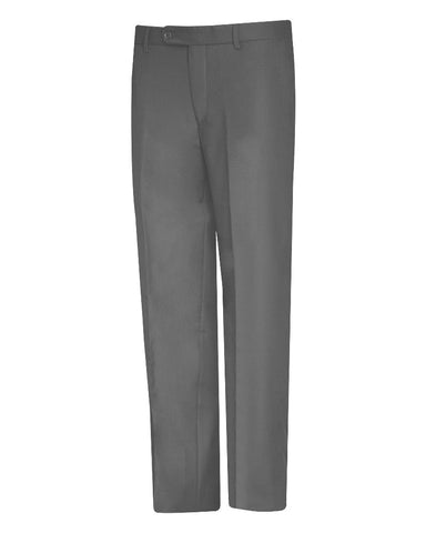 Tropical Solid Charcole Suit Pant