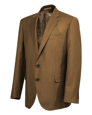 Poly Viscose Brown Suit Jacket