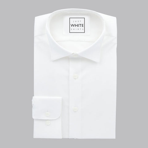 TUXEDO SHIRT WITH BUTTON CUFF, THE ULTIMATE WHITE SHIRT