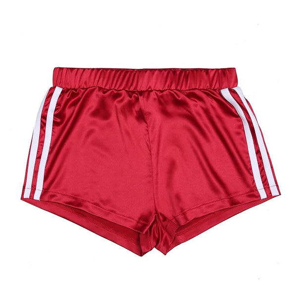Satin Trainer Shorts