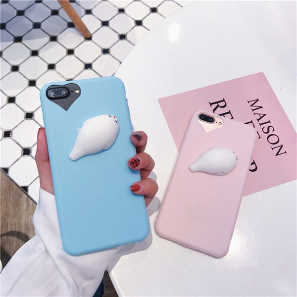 Chubby Seal IPhone Case