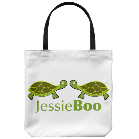 Jess and Boo Tote Bag