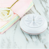 Ultrasonic Washing Machine, USB Portable Mini Ultrasonic Turbine Washing Machine, Multifunctional Disinfection and Sterilization Equipment for Travel and Children's Laundry