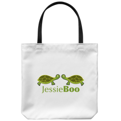 Lovely Turtle JessieandBoo Tote Bag
