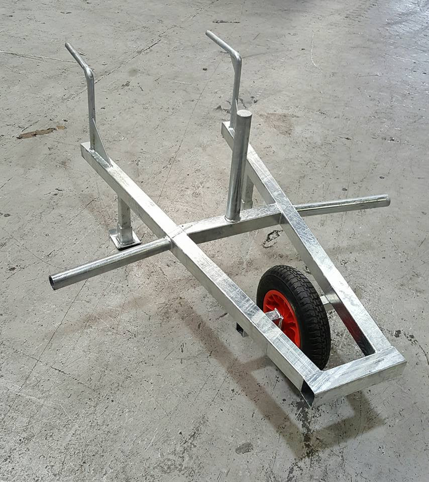 Rebel Strength Plate Loadable Wheelbarrow