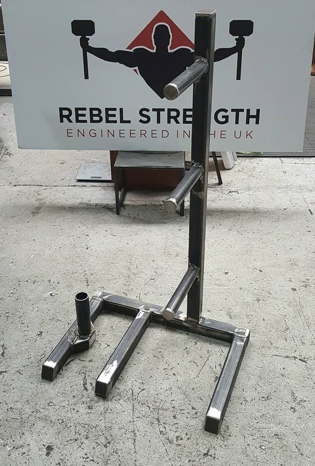 Rebel Strength Raw Log or Bar Storage Rack