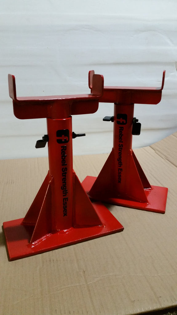 Rebel Strength Adjustable Height Deadlift Stands