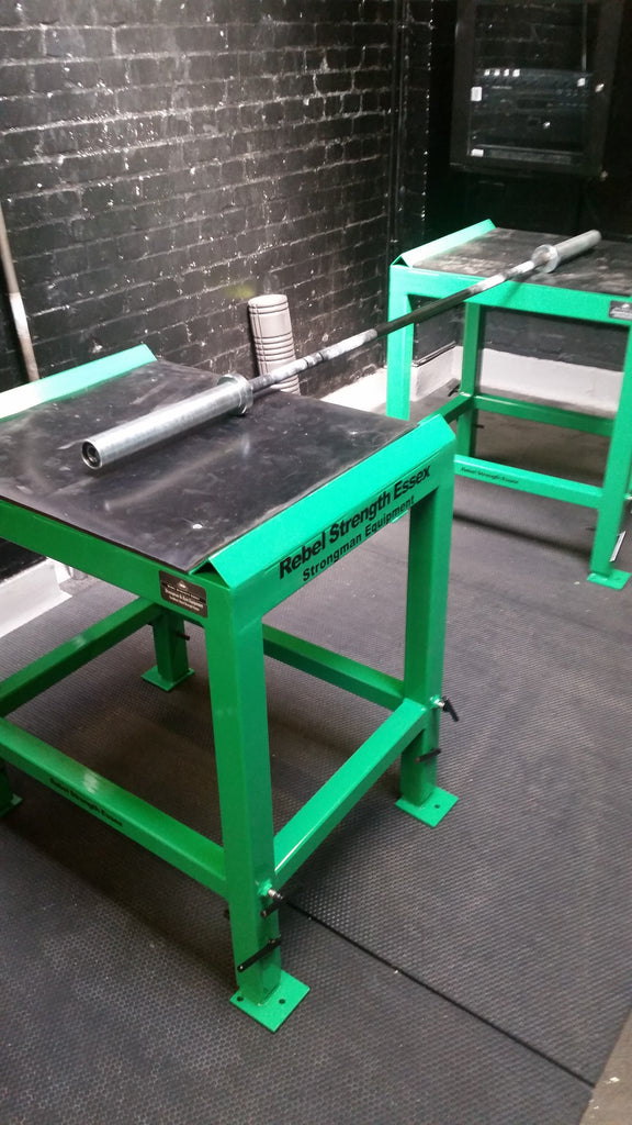 Rebel Strength Heavy Duty Height Adjustable Jerk Blocks