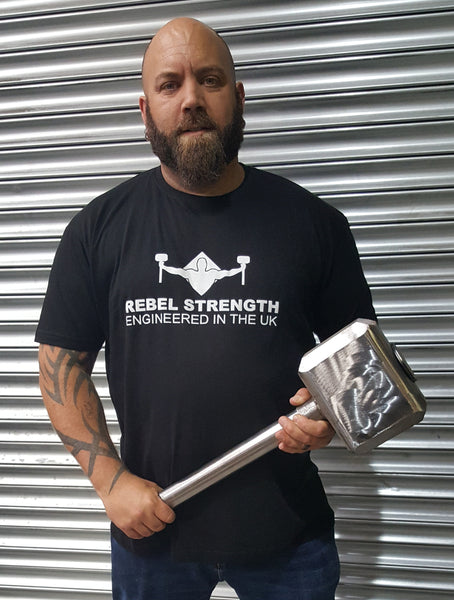Rebel Strength Unisex Show T-Shirt Black