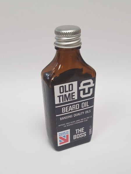 Old Time Strength Beard Oil - The Boss