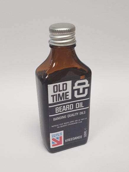 Old Time Strength Beard Oil - Kreedance