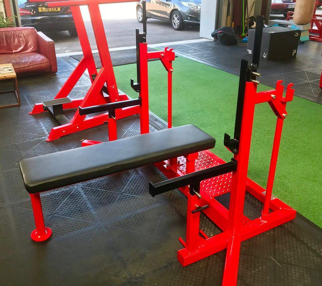 Rebel Strength Fixed Competition Powerlifting Bench