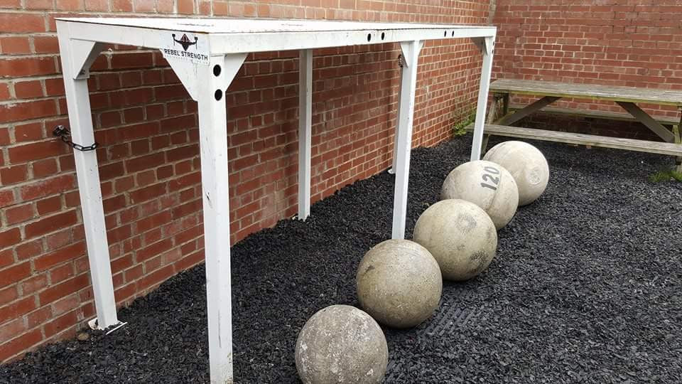 Rebel Strength 5 Bay Atlas Stone Platform