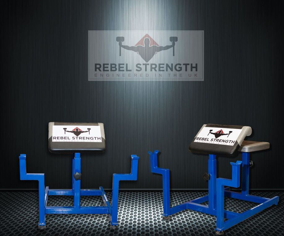 Rebel Strength Professional Preacher Curl Bench