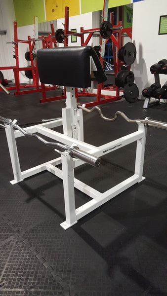 Rebel Strength Double Preacher Curl Bench