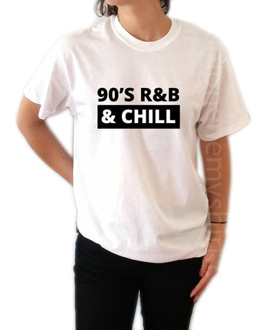 90 R&B Chill - Unisex T-shirt for Women - shpfy