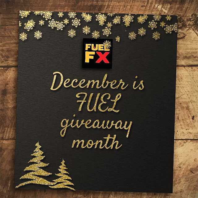 December is FUEL GIVEAWAY month!!!