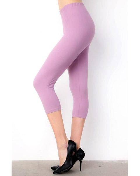 Summer Fun Butter Soft Capri Leggings - Essentially Elegant