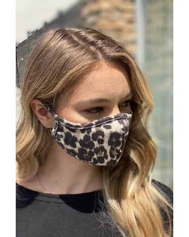 Face Mask - Leopard