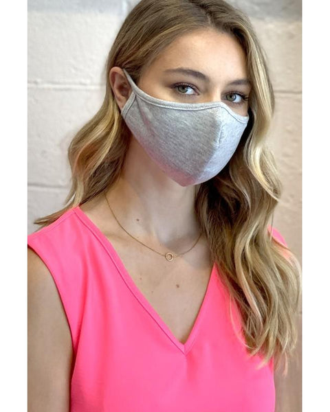 Face Mask - Heather Grey