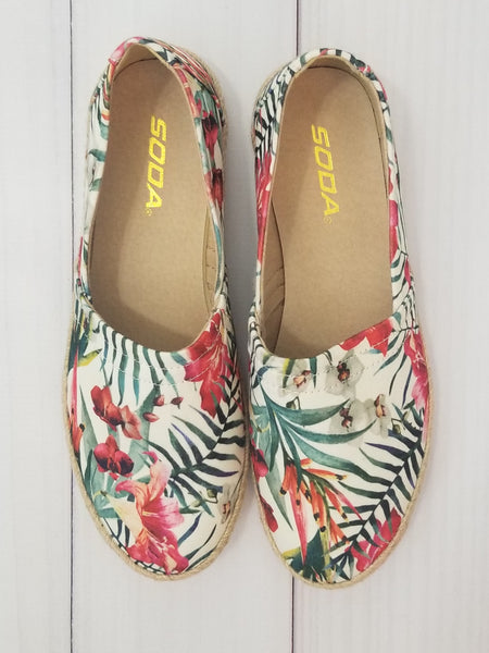 Tropical Paradise Women's Slip On Shoe - Essentially Elegant