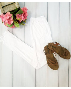 Simply Soft Everyday Butter Soft Full Length Leggings in White