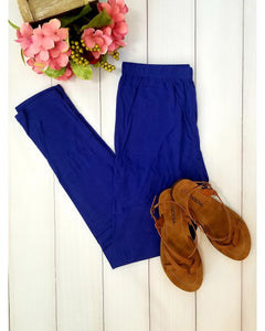 Simply Soft Everyday Butter Soft Full Length Leggings in Royal Blue
